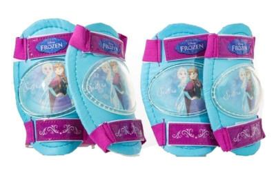 Set protectie genunchiere si cotiere Frozen pentru copii, 3 ani+ foto