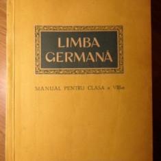 LIMBA GERMANA MANUAL PENTRU CLASA A VIII-A - COLECTIV