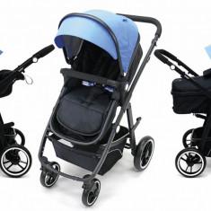 Carucior copii 3 in 1 Asalvo Convertible Two+ Blue