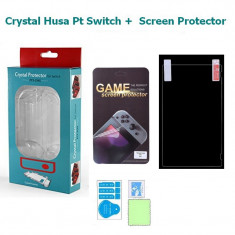 Nintendo Switch Husa TPU Cauciuc Siliconic + Protector Screen - 263