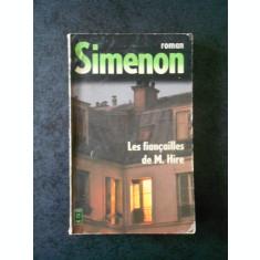 GEORGES SIMENON - LES FIABCAILLES DE M. HIRE (limba franceza)
