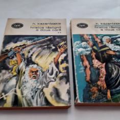 Hristos rastignit a doua oara - Nikos Kazantzakis (2 vol.)  RF4/3