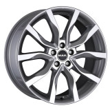 Jante OPEL VECTRA-C 7J x 17 Inch 5X110 et41 - Mak Highlands Silver - pret / buc, 7, 5