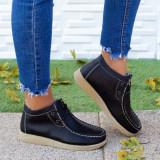 Pantofi dama Piele negri Tunas