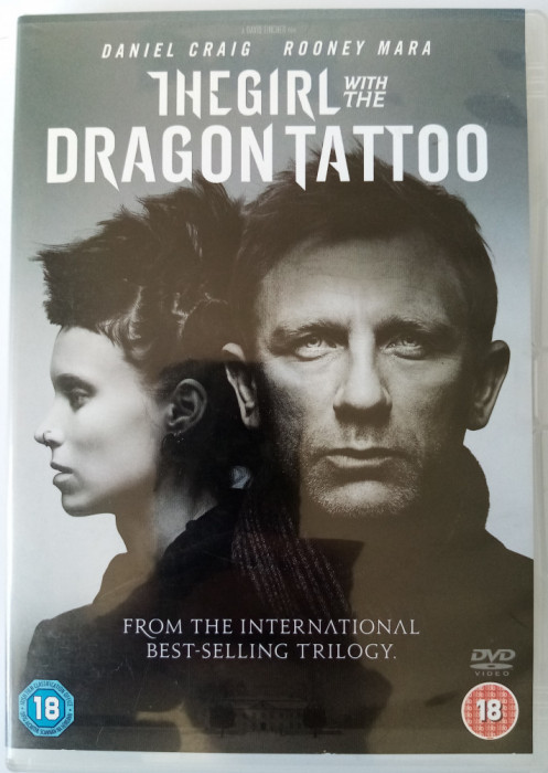 The girl whit the dragon tattoo .... DVD de la Mama lui (in engleza)