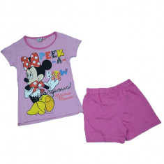 Compleu 2 piese fetite Minnie Mouse Disney MMD2-R, Multicolor