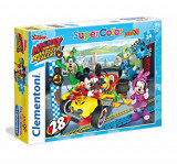 Cumpara ieftin Puzzle Maxi Mickey - Roadster racers, 24 piese, Clementoni