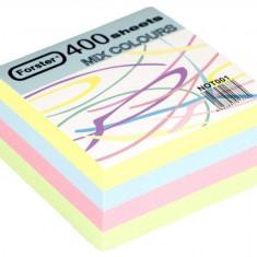 Rezerva cub din hartie color 400 file
