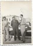 Fotografie Ploiesti anii 1930 barbati autobus autobuz