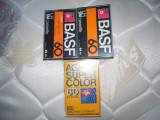 LOT de 3 casete audio de 60 minute, 2 BASF si 1 AGFA, stare BUNA