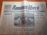 """Ziarul romania libera 25 mai 1990-art. """" si de ce nu ? sa fim optimisti ! """""""