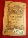 Victor Anestin - Viata anecdotica a Invatatilor Ilustri -BPT 1148 interbelica