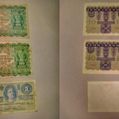 4832A-I-AUSTRIA-UNGARIA-bancnote vechi. Pret/buc.