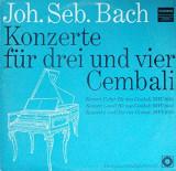 BACH : Konzerte fur drei und vier Cembali BWV 1064 / 1060 / 1065 (vinil)