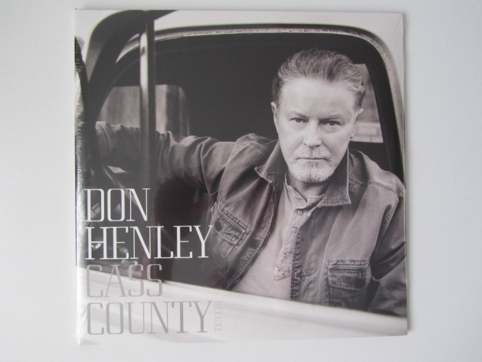 Don Henley (Eagles)-Cass County (Deluxe) Disc LP Vinyl-Vinil Rock-Country NOU