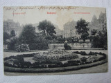 Carte postala circulata la Orsova in anul 1908 - BUDAPESTA, Ungaria, Printata