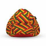 Fotoliu Units Puf Bean Bags tip para impermeabil cu maner zion