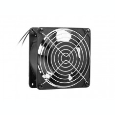 Ventilator Lanberg 19 inch 1x 120 mm Black