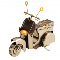 Decoratiune Metal model Scooter stil modern NAGO H 21.5 cm Alama