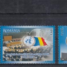 ROMANIA 2005  LP 1697   EVENIMENTE ONU  SERIE   MNH