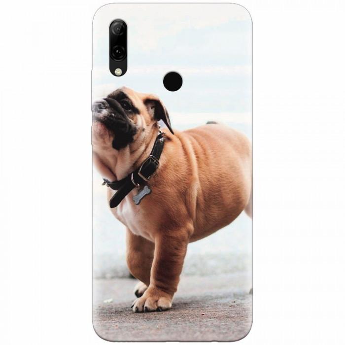 Husa silicon pentru Huawei P Smart 2019, Little Dog Puppy Animal