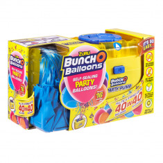 Set party Bunch o Balloons 16 baloane si pompa Blue