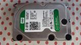 HDD 2 Tb 3,5 inch Western Digital Green Sata3 Desktop., 5400, SATA 3