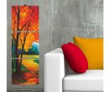 Set 3 tablouri Autumn 16x55 cm