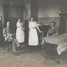 Ofiter german Primul Razboi Mondial fotografie veche