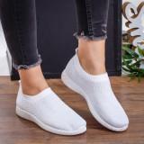 Pantofi sport Noali albi -rl, Alb