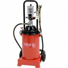 Pompa pneumatica pentru gresat Yato YT-07067, 8 Bar, 12 L