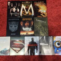 LOT 11 filme BluRay (2D,3D,DVD) STEELBOOK , cu/fara romana, NOI !, BLU RAY