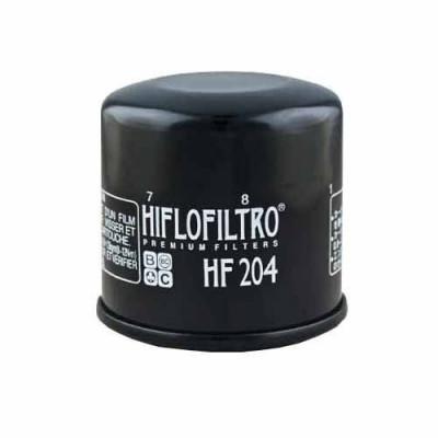 Filtru Ulei Hiflofiltro HF204 Honda CB600 CBR600 900 1000 VT750 VFR800 1200 ST1300 GL1800; Kawasaki ZX600 1000 1200 Z750 1000; Yamaha FZ6 FZ8 FZ1 YZF foto