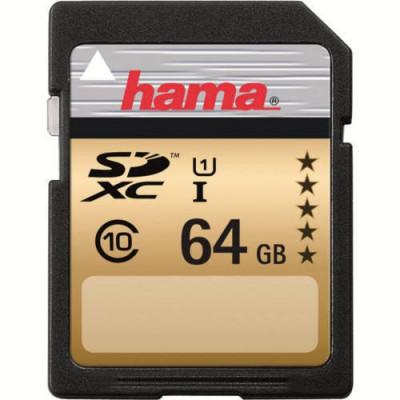 Card Hama SDXC 64GB Clasa 10 foto