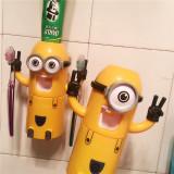 Dispenser pasta  dinti minion ,dozator pasta de dinti,dozator Minion,19x8x6.2cm