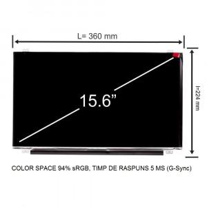 Display laptop Lenovo Thinkpad P50 15.6 inch 1920x1080 Full HD IPS 30 pini 120Hz 94% sRGB