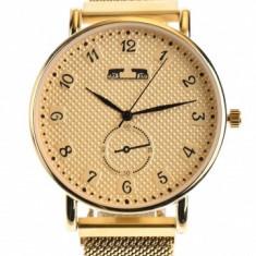 Ceas dama Matteo Ferari casual-elegant, Gold - MF174GDGOLD
