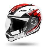 Cumpara ieftin Casca moto scuter ISPIDO ARSEN culoarea negru rosu alb, marimea 2XL unisex