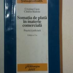 SOMATIA DE PLATA IN MATERIE COMERCIALA de CRISTINA CUCU si CATALIN BADOIU