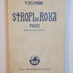 STROPI DE ROUA.VERSURI de V. MILITARU, EDITIA A II-A REVAZUTA SI ADAUGITA de V. MILITARU