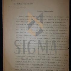 DOCUMENT MINISTERUL CULTELOR SI INSTRUCTIUNEI, SEMNAT SPIRU HARET SI P. GARBOVICEANU, 1908