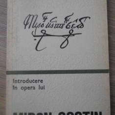 INTRODUCERE IN OPERA LUI MIRON COSTIN - MIRCEA SCARLAT