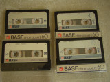 Lot 4 Casete BASF Chromdioxid II CrO2 - Inregistrate o singura data - 27