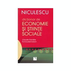 Dictionar de economie si stiinte politice