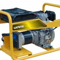 Generator curent Trifazat, diesel SUBARU Tristar 6510 DTXL15, 6,3kVA