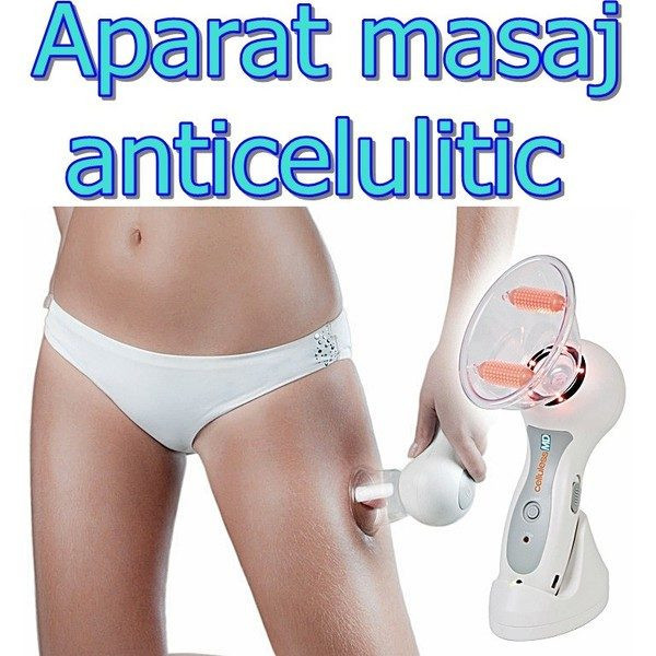 Aparat de masaj cu vacuum anticelulitic Celluless MD