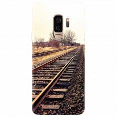 Husa silicon pentru Samsung S9 Plus, Railroad