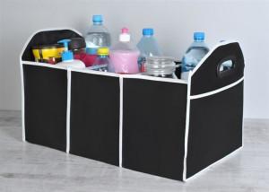 Organizator portbagaj pliabil, pentru depozitare si organizare accesorii auto