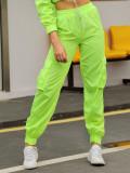 Cumpara ieftin Pantaloni lungi , model Neon BP|10 , marca Beppo, Verde, L, M, S, XL