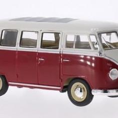 Macheta VW T1 Bus - WELLY scara 1:24